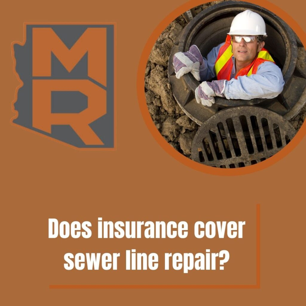 Does insurance cover sewer line repair